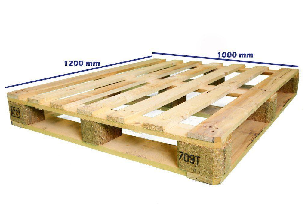 tipuri si dimensiuni de paleti - paletul industrial