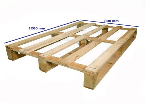 tiprui si dimensiuni de paleti - paletul de tip euro