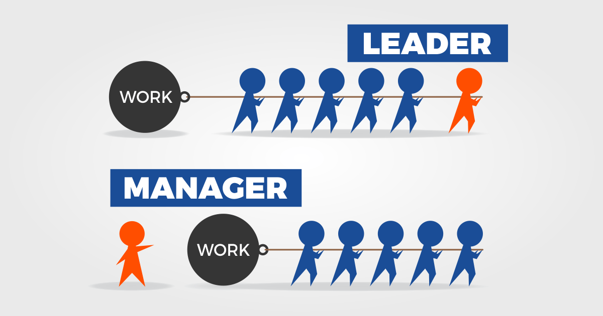 leader sau manager
