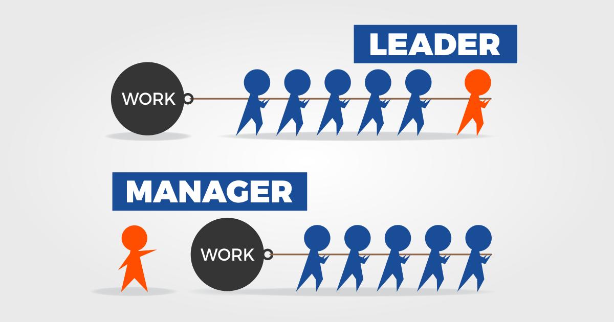 leader sau manager